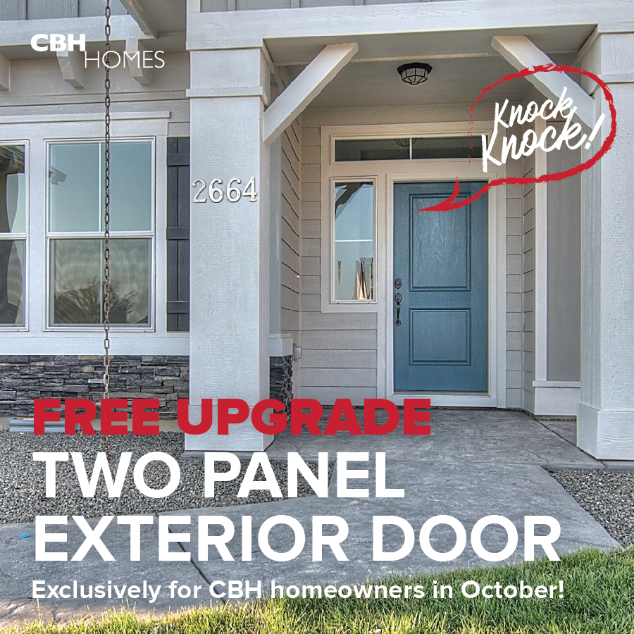 Letu0027s Get To Knockinu0027 On This October Promo! | CBH Homes
