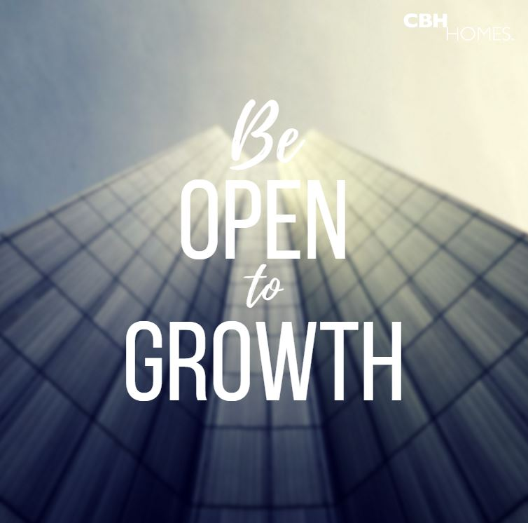 Be Open to Growth