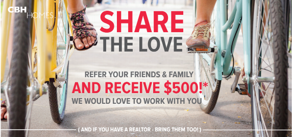 share the love CBH Homes