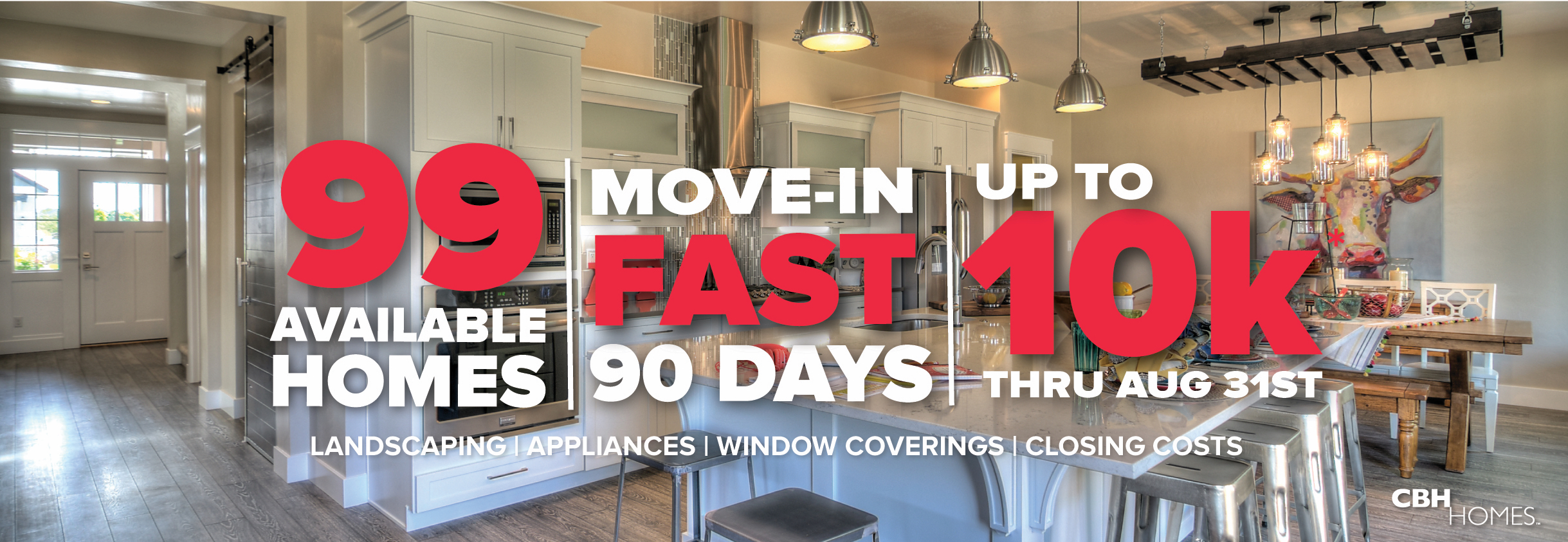 90 Day Move-In Promo   CBH Homes