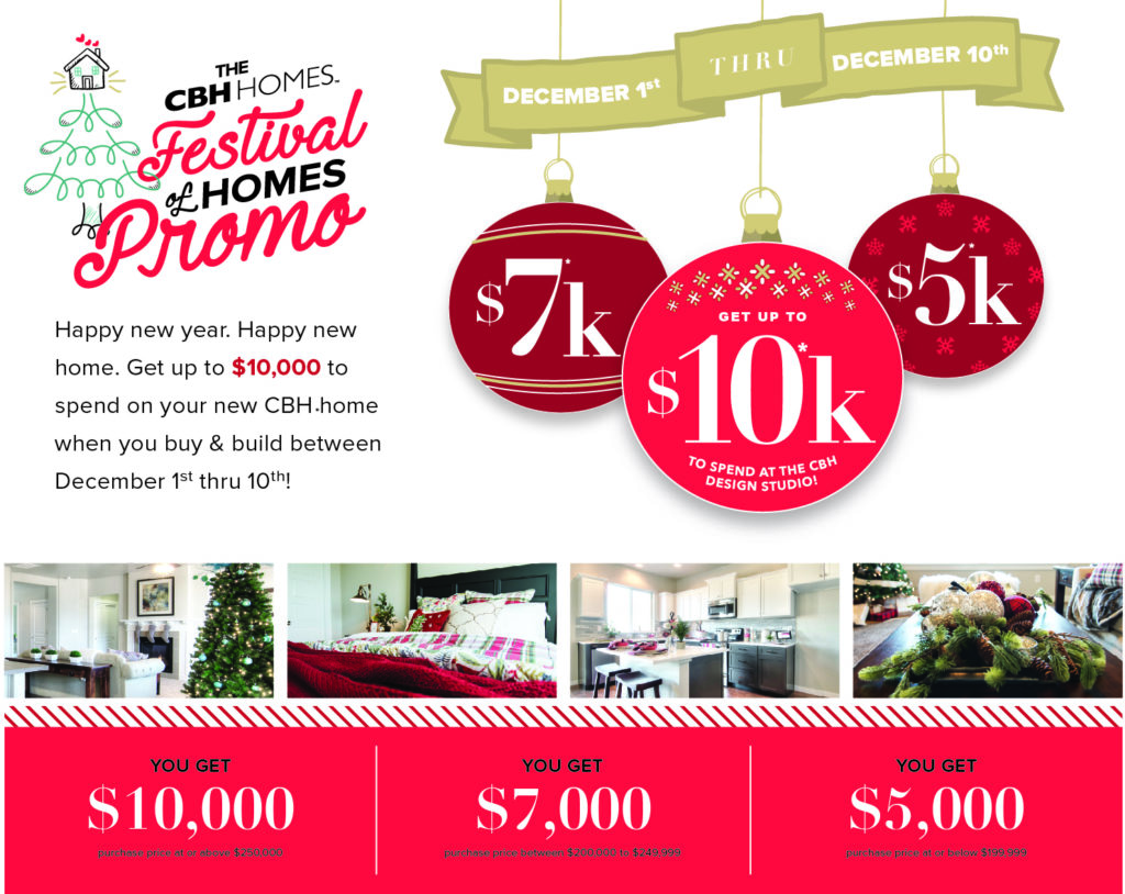 Deck the Halls with $10,000 | CBH Homes - CBH Homes Blog