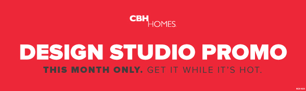 CBH Homes October Design Studio Promo
