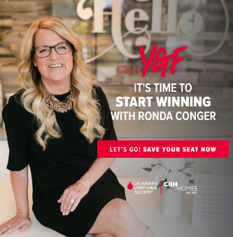 YGF -It's Time to Start Winning with Ronda Conger - Buy Your Tickets Today!