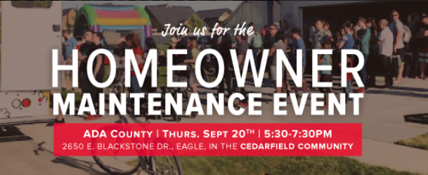 CBH Homes Homeowner Maintenance Event at the Cedarfield Community