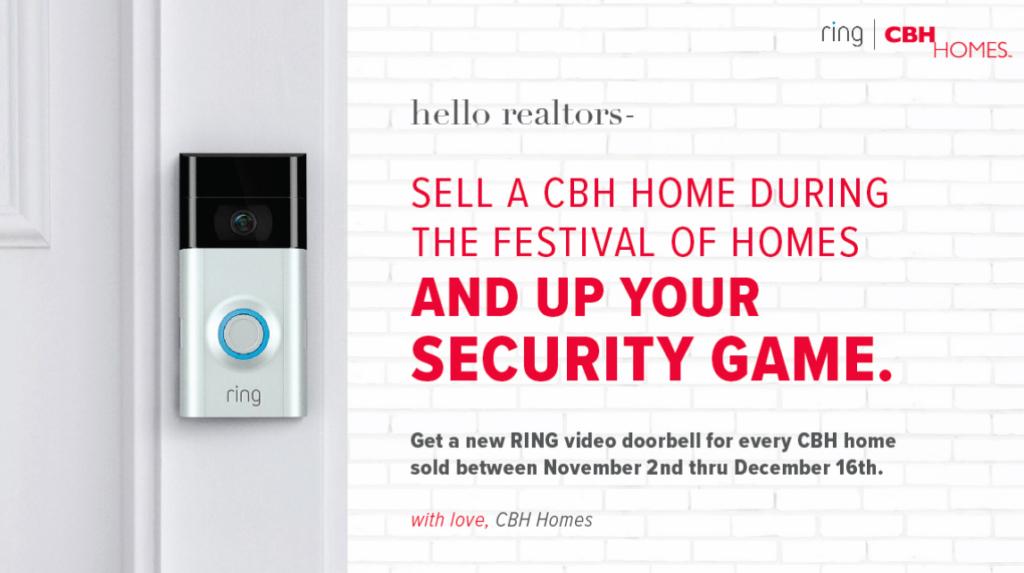 CBH Homes - Realtors - Free Ring Doorbell