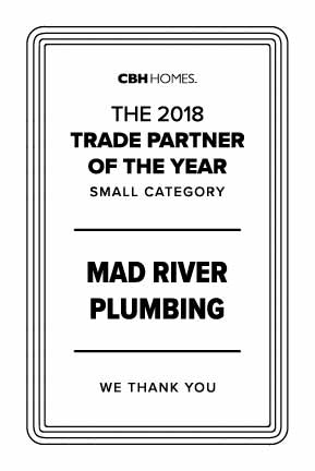 Mad River Plumbing Trade Partners of the Year 2018