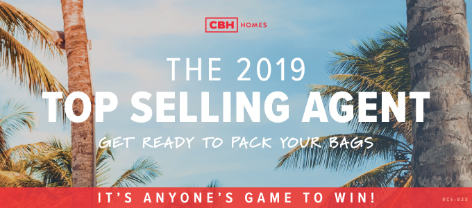 cbh homes 2019 top selling agent