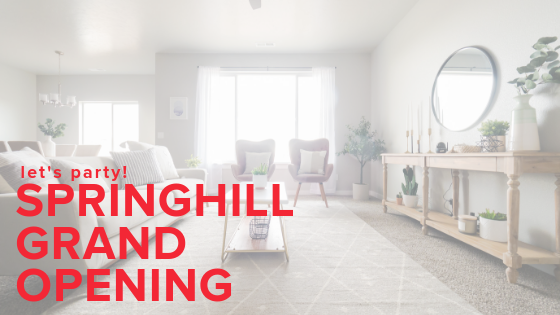 CBH Homes Springhill Grand Opening