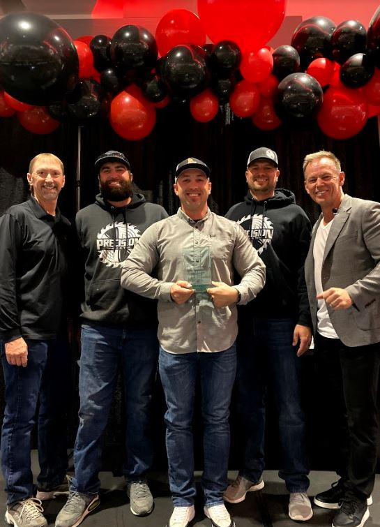 CBH Homes_Trade Partner of the Year_Precision Design & Trim_2010_New Homes_ Boise New Homes_New Home Construction_2019 Trade Partners of the Year