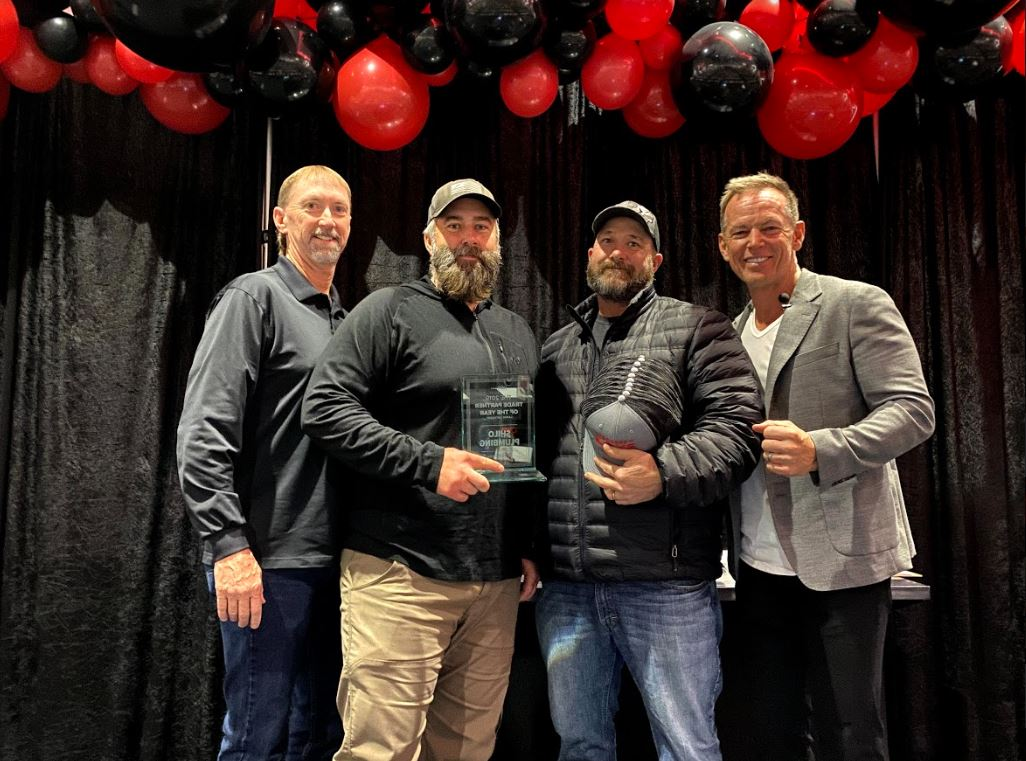 CBH Homes_Trade Partner of the Year_Shilo Plumbing_2010_New Homes_ Boise New Homes_New Home Construction_2019 Trade Partners of the Year