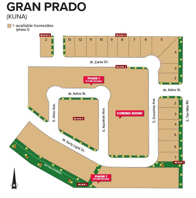 CBH Homes_Gran Prado_Kuna_Meridian_Idaho_New Communities