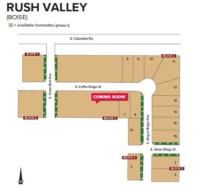Rush Valley_CBH Homes_Southeast Boise_New Homes Boise_ Boise Home builder_Affordable Homes Boise_New Communities